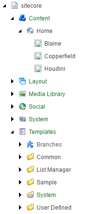 Broken icons in the Content Editor.